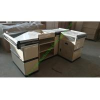 Quality Stainless And Cold Rolled Steel Shop Checkout Counter Baking Paint Finish for sale