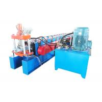 Quality Galvanized Steel Door Frame Roll Forming Machine Cr12 Cutter Material for sale
