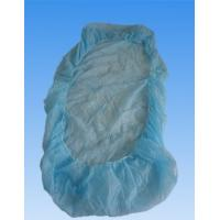Quality Soft Plastic Disposable Bed Covers With Elastic , Water Proof And Protective for sale