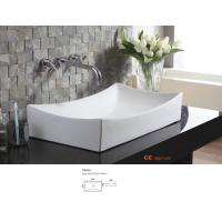 Quality Countertop bathroom basin unit easy clean and antibacterial coating hand wash sink for furniture for sale