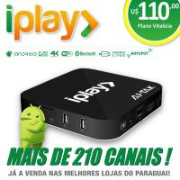 Quality Android Iplay IPTV Satellite Receiver With Free Service Account For Brazil for sale