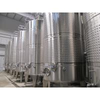 Quality Tanks in Unit for Milk/Beverage (juice) Processing for sale