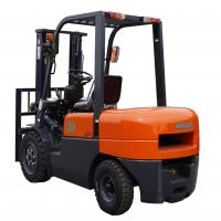 Quality 3000mm Lift Height Diesel Forklift Truck With Pneumatic Tires Automatic Transmission for sale