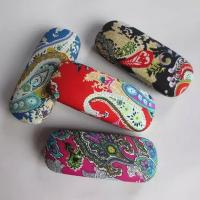 Quality Hot selling fabric printed glasses cases for sale