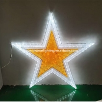 Quality large lighted christmas star for sale