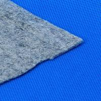 Quality Carpet Underlay Polyester Felt Fabric / Blue Felt Carpet Underlay for sale