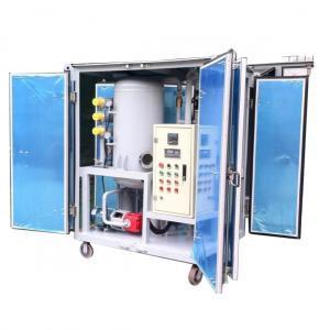 Quality ZJA  High VacuumTransformer Oil Treatment machine oil purifier filter machine for sale