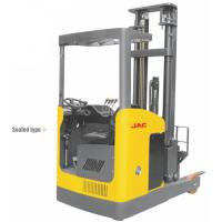 Quality Narrow Aisle Reach Truck Forklift 1.5 Ton Seated Type For Warehouses / Supermarkets for sale