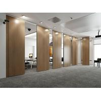 Quality Conference Room Sliding Movable Office Partition Wall Sound Insulation for sale