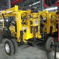 Buy cheap Durable Engineering Drilling Rig Yellow Color Steel XYX-3 Wheel Core Drilling from wholesalers