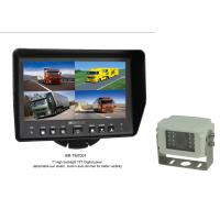 """Quality 7"""" quad split truck system built in control box, support 4 camera input, 1/3"""" CCD camera, 12-24V for sale"""