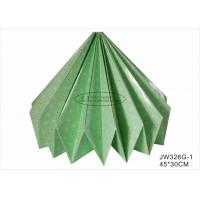 Quality 30cm Green Origami Paper Lantern , Origami Paper Lights Lantern Handmade Craft for sale