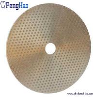 Quality Abrasive Material Diamond Disc Dental , Diamond Polishing Disc Trimmer Consumables for sale