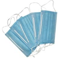 China Medical Grade Protect Disposable Dust Mask 3 Ply Non Woven Filter Paper on sale