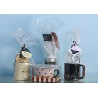 China BOPP Clear Cellophane Gift Bags Clarity Packaging Food Grade For Packing Cup on sale
