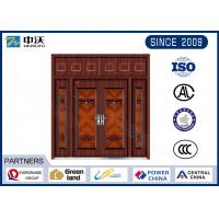 China Guard Against Theft Fireproof Entry Doors With Door Viewer High Strength on sale