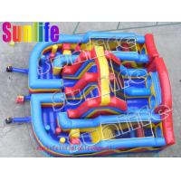 Quality inflatable foot house slide for sale