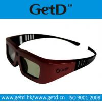 Quality To watch movies 3d active 3d glasses with CR2032 battery in shenzhen--GT100 for sale