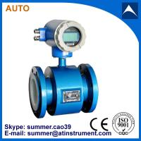 Quality electromagnetic flow meter used for tap water with reasonable price for sale