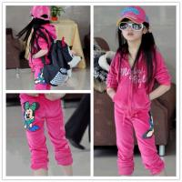 Quality Free sample minnie mouse hoodie the clothes for autumn season wholesale clothing distributors for sale