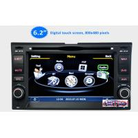 Buy 6.2'' Car Stereo GPS Headunit Multimedia DVD Player forKIA Sportage Cerato Carnival Sorent at wholesale prices