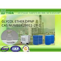 Buy cheap Slow Evaporating Solvent Glycol Ether DPNP Cas No 29911-27-1 With 11.4 Viscosity from Wholesalers