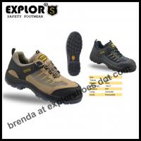 China men's safety hiker shoes steel toe shoes hiking shoes climbing shoes with steel toe on sale