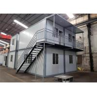 Quality Environmental Friendly Prefabricated Shipping Container House For Labor Camp / Office / Workers Accommodation for sale