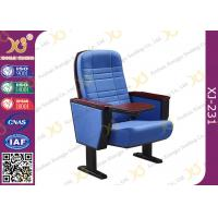 Buy cheap Vintage Two Movie Theater Theatre Auditorium Seating Chairs Solidwood Church Seats from Wholesalers