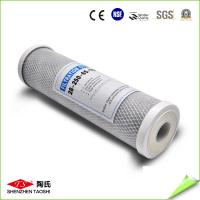10'' CTO Activated Carbon Filter Cartridge 45 Degree Water Temperature