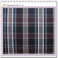 Quality 75 Cotton 25 Polyester Checks Fabric for sale