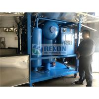 China Bipolar Vacuum Electric Transformer Oil Purifier Machine Fully Enclosed Type on sale