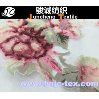 Quality Nylon fabric polyester blend fabric flower pattern fabric for hometextile curtain fabric for sale