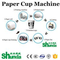 2020 China High Speed Ice Cream Cup Making Machine Fully Automation Ultrasonic