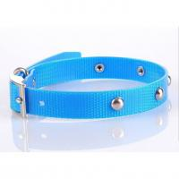 Quality Colorful TPU coated waterproof pet collar for sale