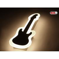 Quality Guitar Acrylic 1000lm inside LED wall light /indoor led wall lamp for amusement park for sale