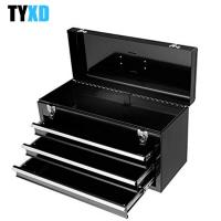 Quality Steel wear proof 3 Drawer Metal Tool Storage Box Heavy Duty Cold Rolled Steel Made for sale