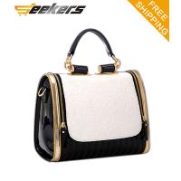 Quality vintage fashion women PU leather handbags,leather tote bags,shoulder bags for sale