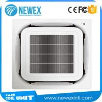 China NEWEX Factory Price 8-way Cassette Type Fan Coil Unit(G Style), Ceiling Mounted Air Conditioner on sale