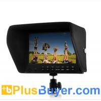 Quality 7 Inch On-Camera 1080P Monitor for DSLR (Built-in Speaker, HDMI Out) for sale