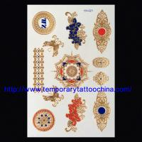 Quality Hot sales flash temporary tattoo shining temporary tattoo for sale
