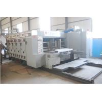 Quality automatic lead edge high speed printing slotting die cutting machine for sale
