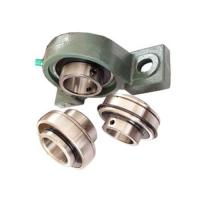 Buy cheap Chrome steel Pillow Block Ball Bearing with eccentric locking collar for Air from wholesalers