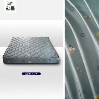 Quality TUV Comfortable Soft 70g-95gsm Jacquard Knitted Fabric Mattress Cover for sale