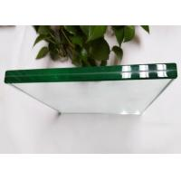 Quality High Density Laminated Tempered Glass , Ultra Clear Bathroom Shower Glass for sale