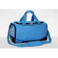 Quality Mens Travel Duffel Bag , OEM Nylon Ripstop Blue Sports Bags Lightweight for sale