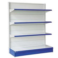 Quality Wall Shelf And Island Gondola Supermarket Display Shelving / Heavy Duty Rack for sale