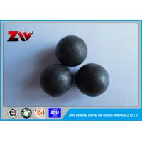 Quality Cement plant low chrome grinding cast iron balls for ball mill / Power Plant for sale