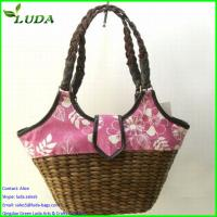 Quality Superior quality Chinese colorful handmade Corn husk bags for sale