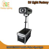 Buy cheap 2000W&2500W Mobile Follow Spot Light from Wholesalers